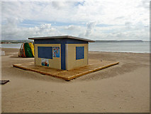 SY6879 : Weymouth - Beach Outlet by Chris Talbot