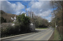 SX4975 : Old toll house by the A386 by Derek Harper