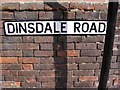 TM4462 : Dinsdale Road sign by Adrian Cable