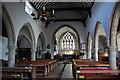 TQ4823 : Interior, St Margaret's church, Buxted by Julian P Guffogg