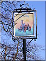 TM4462 : Engineers Arms Public House sign by Adrian Cable