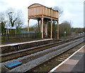 ST9897 : Water tower, Kemble railway station by Jaggery