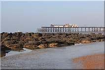 TQ8109 : Low tide at Pelham Beach by Oast House Archive