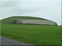 O0072 : Newgrange Passage Tomb by Graham Hogg