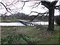 H3524 : White bridge, Crom by Kenneth  Allen