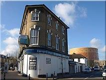 TQ2575 : Building beside Wandsworth Town station by Derek Harper