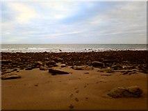 NX4235 : Footprint of Sand by Andy Farrington