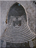 TL4538 : Chrishall: Holy Trinity - Sir John de la Pole by John Sutton