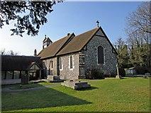 TQ4163 : Keston Parish Church by Eric Lyus