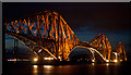NT1378 : Forth Bridge illumination by William Starkey