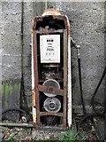 H6357 : Disused petrol pump, Ballygawley by Kenneth  Allen