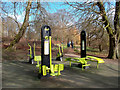 TQ4376 : Fitness Machines in the Park by Des Blenkinsopp