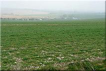 SU4955 : Arable fields above Cannon Heath Farm by Graham Horn