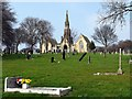 NZ2263 : St John's Cemetery, Elswick by Andrew Curtis