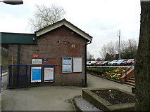 SJ9588 : Rose Hill Station by Peter Barr