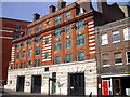 TQ2979 : Westminster Fire Station, Greycoat Place, London by PAUL FARMER