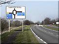 SJ6193 : A49 Winwick Link Road by David Dixon