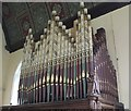 TF0084 : Organ in St Hilary's church, Spridlington by J.Hannan-Briggs