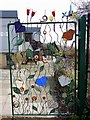 NZ2163 : Ornamental gate, Benwell Nature Park by Andrew Curtis