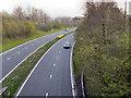 SJ6192 : The Winwick Link Road (A49) by David Dixon