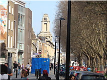 TQ3581 : View of the former Empire Music Hall from Mile End Road by Robert Lamb