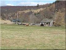 NO3462 : Barns in Glen Prosen by Oliver Dixon