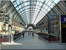TQ3083 : King's Cross station by Dr Neil Clifton