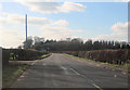 SP7821 : Pitchcott Road at entrance to Holbornhill Farm by John Firth