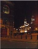 SE2934 : Leeds Civic Hall at Night by derek dye