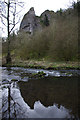 SK1452 : Weir on River Dove by Ian Taylor