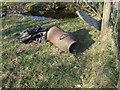 SH7850 : Disused milk churn by Richard Hoare
