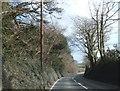 SW8860 : A392 west of White Cross by David Smith