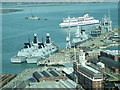 SU6201 : Portsmouth Naval Base by Colin Smith