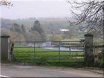 W9599 : Gateway overlooking the Blackwater river by Hywel Williams