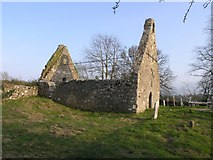 S0318 : Tubbrid Church (older) ruin by Hywel Williams