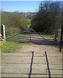SK2503 : Standing on top of disused bridge 55 by John Carver