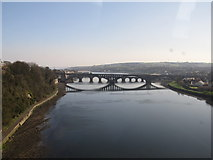 NT9953 : River Tweed, Berwick upon Tweed by Richard Rogerson