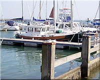 SZ3394 : Lymington Yacht Haven by Val Pollard