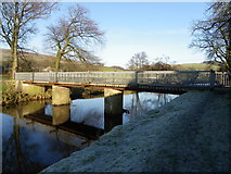 SD6650 : Bridge over the River Hodder - Thorneyholme by Tom Howard