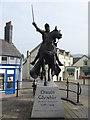 SJ0743 : Owain Glyndwr in Corwen by M J Richardson