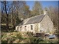 NO5898 : Former hind's cottages at Balnacraig by Stanley Howe