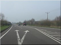 SJ5148 : A41 at the turning for Robberhill by Peter Whatley