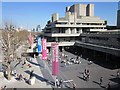 TQ3080 : The National Theatre in spring sunshine by Patrick Mackie