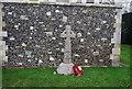 TR1855 : War Memorial, Patrixbourne by N Chadwick