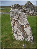 NG2261 : Clach Deuchainn (The Trial Stone) by Douglas Nelson