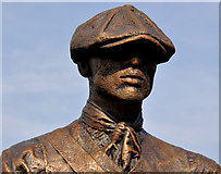 J3574 : Titanic Yardmen sculpture, Belfast (4) by Albert Bridge