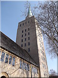 SP5106 : Spire of Nuffield College, New Road, Oxford by Robin Sones