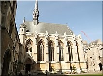 SP5106 : Chapel, Exeter College, Turl Street, Oxford by Robin Sones