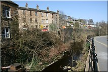 SE1307 : The River Holme at Upper Bridge by Graham Hogg