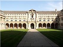 SP5106 : Quadrangle, St John's College, St Giles', Oxford by Robin Sones
